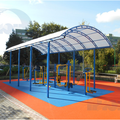 Навес для детской площадки в Перми