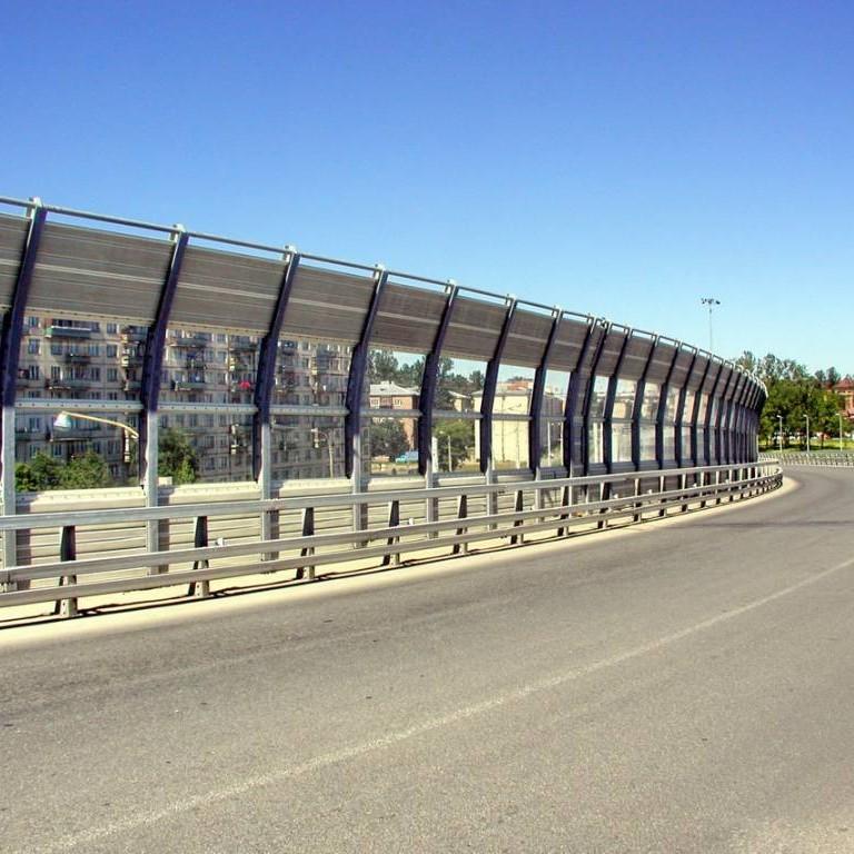 Шумозащитный экран в Перми
