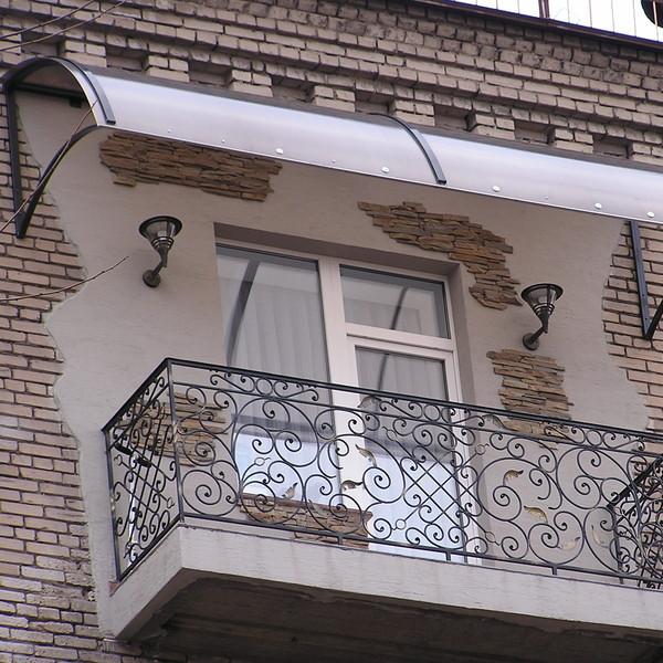 Козырьки для балкона